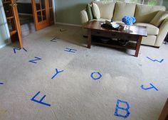 gross motor alphabet game