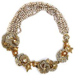 Miriam Haskell - Collier Multirangs - Perles Imitation - Vers 1950