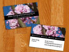Visitekaartje voor de fotografie website (binnenkort online).  http://digitalyou.nl/visitekaartjes-ontwerp/