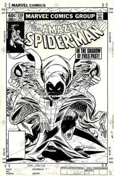 The cover to Amazing Spider-Man #238 by John Romita Jr and his father, John Romita. One of my favorite covers ever!