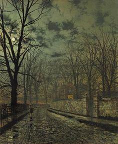 November by John Atkinson Grimshaw