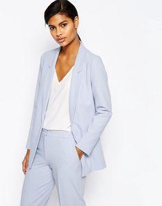 ASOS+Slim+Tailored+Jacket+in+Crepe