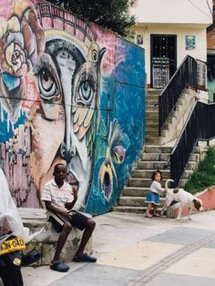 Comuna 13 is known for its street art—but there's more than meets the eye. Here's everything you should know before taking a Comuna 13 tour in Medellin. Graffiti, Jesus Christ Superstar, Urban Street Art, Art Area, Gap Year, Granada, South America, Wander, Tours