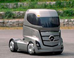 Mercedes-Benz Aero Trailer - Concept Truck--Overall reducing drag 18%