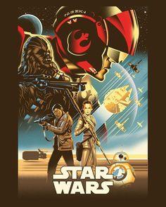 Resultado de imagen para awesome star wars posters