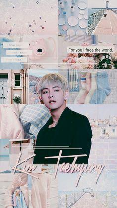 { bangtan horoscopes because why not. Bts Taehyung, Bts Bangtan Boy, Jimin, Fandom Kpop, Collages, Kpop Aesthetic, Aesthetic Collage, Bts Lockscreen, I Wallpaper
