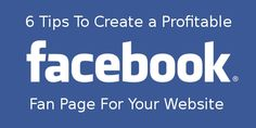 Learn how to make a Facebook Fan Page to advertise your website and drive traffic! These social media marketing techniques will help to promote your site!