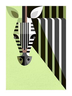 I love these graphic animal prints by Josh Brill via Lumadessa. Their style reminds me of Charley Harper but these limited edition prints are even more simplified. Arte Zebra, Zebra Kunst, Zebra Art, Art And Illustration, Illustration Animals, Charley Harper, Graphic Art, Graphic Design, Vintage Graphic