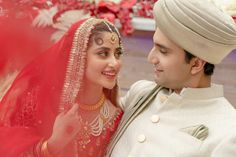 Sajal Ali and Ahad Raza Mir have finally got married with their wedding ceremony taking place in Abu Dhabi according to reports circulating on Celebrity Couples, Celebrity Gossip, Celebrity Weddings, Celebrity News, Wedding Images, Wedding Pics, Desi Wedding, Wedding Couples, Wedding Attire
