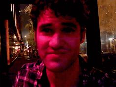 Darren blows a kiss.