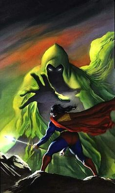 The Spectre and Superman by Alex Ross