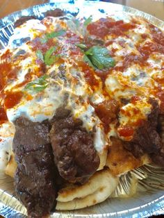 Cookbook Recipes, Meat Recipes, Cooking Recipes, Minced Meat Recipe, Mince Meat, Greek Recipes, Lasagna, Food And Drink, Yummy Food
