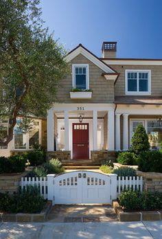 Newport Beach - traditional - exterior - orange county - Sinclair Associates Architects