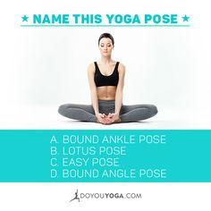 Can you name this #yoga pose? :-)