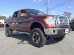 2010 Ford F-150 Lariat Lifted Truck