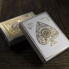 Fancy - White Artisan Playing Cards