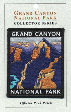 Official Grand Canyon National Park Souvenir Patch Arizona Iron-on USA Seller Pin And Patches, Iron On Patches, Jacket Patches, National Park Posters, National Parks, National Park Patches, Travel Patches, Badge Logo, Morale Patch