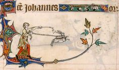 Gorleston Psalter, England 14th century (British Library, Add 49622, fol. 209r). Discarding images