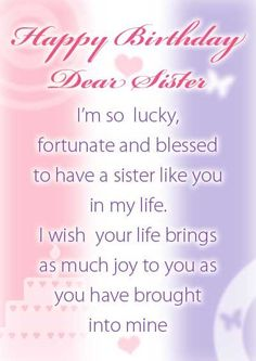 To an amazing celebration happy birthday wishes card for sister bbirthdayb cards for bsister m4hsunfo