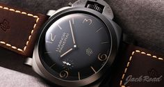 PANERAI Luminor 1950 3Days Titanio DLC / Ref.PAM00617
