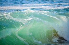 """California Beach Photography - wave beach california photography green 5x7 8x10 11x14 16x24 ocean wall art blue beach wall decor- """"Luscious"""""""