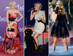 carrie underwood red carpet 2013