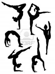 silhouette gymnast - Google zoeken