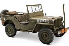 Our home has history. The Willys-Overland Jeep.