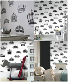 Wallpaper by Graham & Brown, fit for a Royal Baby ;)