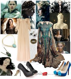 """""""Snow White and the huntsman"""" by mariemvs ❤ liked on Polyvore"""