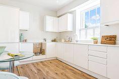 White Shutters, Window Shutters, Sash Windows, Cafe Style Shutters, Kitchen Shutters, Kitchen Dining, Kitchen Cabinets, Window Dressings, Clean Design
