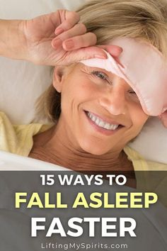 Take too long to fall asleep? Trouble staying asleep? Here are 15 natural ways to fall asleep quicker and sleep better. #sleep #sleepbetter #fitnesstips#getfittips #healthyliving #health#healthyliving#fitover40#fitover50#selfcare Health And Fitness Tips, Health Tips, Fitness Blogs, Wellness Tips, Health And Wellness, Ways To Fall Asleep, Oils For Sleep, Female Hormones, Fit Over 40