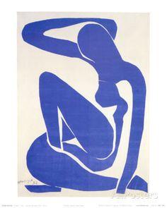 Blue Nude I, c.1952 Posters tekijänä Henri Matisse AllPosters.fi-sivustossa