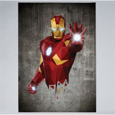 William Teal - Iron man - Print