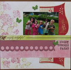 """""""Sweet Summer Treat"""" by Tiffany Call for The Crafting Family"""
