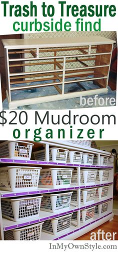 Budget Furniture Organizer
