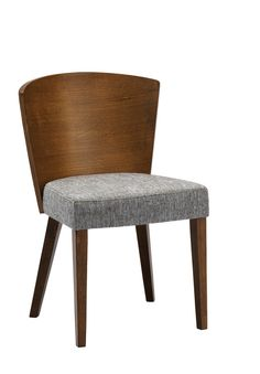 Sparrow Brown Wood Modern Dining Chair