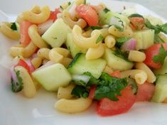 Make and share this Cucumber Cilantro Pasta Salad recipe from Food.com.
