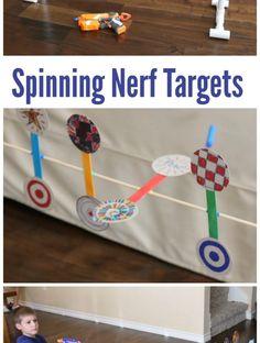 Как сделать Nerf Spinning Target