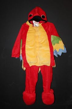 New Gymboree Baby Parrot Halloween Costume Toddler Size 18 24 Months | eBay