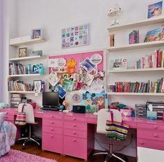 22 Colorful and Inspirational Kids Room Desks for Studying and Entertainment | Daily source for inspiration and fresh ideas on Architecture, Art and Design