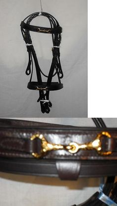 Bridles 72579: New English Bridle W/ Snaffle Bit On Brow And Nose Band (Horse Or Cob Size) -> BUY IT NOW ONLY: $45 on eBay!