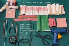 Christine paper design - magnolia tutorial (2)