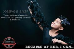 """""""Josephine Baker"""", Eunique Jones Gibson's 'Because Of Them, We Can' photos of kids posing as Black icons Josephine Baker, Black Like Me, My Black Is Beautiful, Kids Inspire, Black Figure, Kid Poses, Famous Black, Black Girls Rock, African American History"""