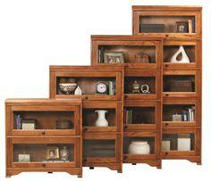 Oak Ridge Lawyer Bookcase