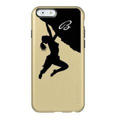 customizable monogram bouldering iPhone 6 Case