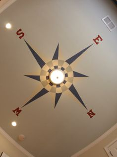 For ceiling in downstairs bathroom - nautical