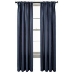 Studio™ Finley Rod-Pocket/Back-Tab Curtain Panel - JCPenney
