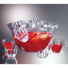 Prodyne Pb8 Illusions Punch Salad Bowl Combo 12Pc Set ORDER 2 OF THESE