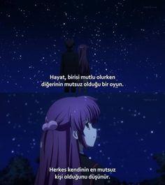 Herkes kendinin en mutsuz kişi olduğunu düşünür.. Film Quotes, Book Quotes, Studio Ghibli, Anime Suggestions, Sad Anime Quotes, Korean Quotes, Good Sentences, Webtoon, Cool Words